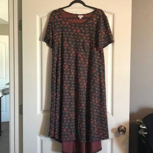 LuLaRoe Dresses - XL Lularoe carly